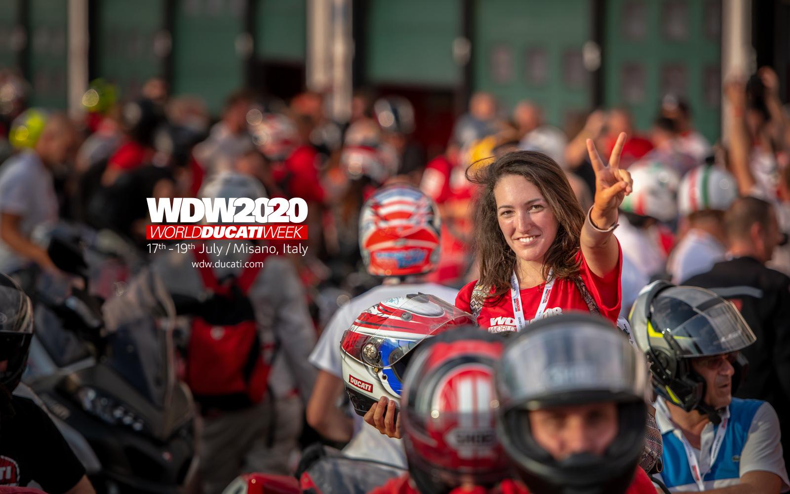 Ducati annuncia le date del World Ducati Week 2020